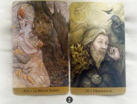 1 au 7 aout - Votre guidance de la semaine Le Tarot du Royaume Caché de Barbara Moore et Julia Jeffrey - Graine d'Eden Tarots et Oracles divinatoires