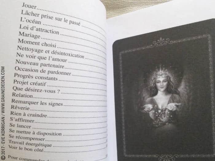 Graine d'Eden Développement personnel, spiritualité, tarots et oracles divinatoires, Bibliothèques des Oracles, avis, présentation, review , revue
