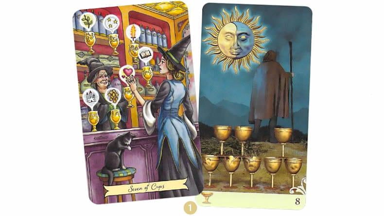 22 au 28 janvier 2018 - Votre guidance de la semaine avec Everyday Witch Tarot et Vice Versa Tarot - Graine d'Eden Eve Korrigan - Développement personnel, spiritualité, tarots et oracles divinatoires, Bibliothèques des Oracles, avis, présentation, review , revue