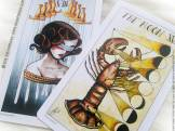 Eight Coins' Tattoo Tarot de Lana Zellner Review - Graine d'Eden Développement personnel, spiritualité, tarots et oracles divinatoires, Bibliothèques des Oracles, avis, présentation, review tarot oracle , revue tarot oracle