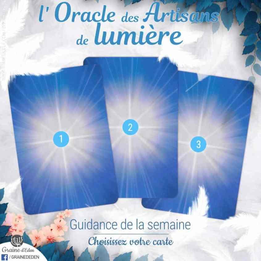 Jeu-Energies 7 au 13 mai 2018 Oracle des Artisans de Lumière