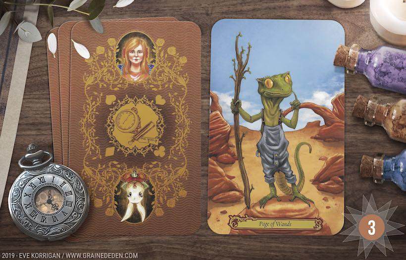 Grand Taroscope 2019 - Votre guidance de l'Année avec Tarot In Wonderland de Barbara Moore - Graine d'Eden Développement personnel, spiritualité, tarots et oracles divinatoires, Bibliothèques des Oracles, avis, présentation, review tarot oracle , revue tarot oracle