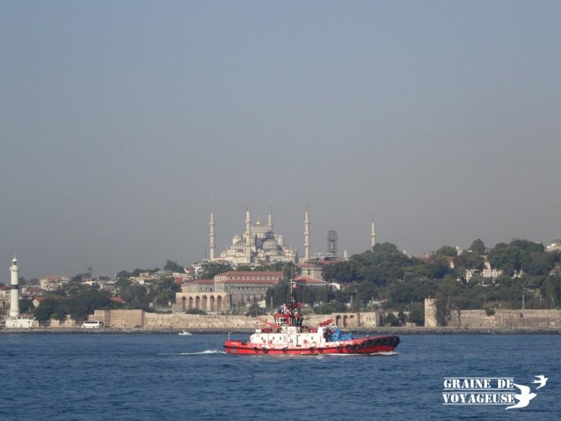 Bosphore mosquée bleue Istanbul