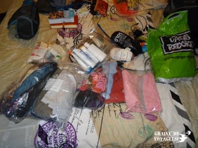 rangement sac voyage ziploc