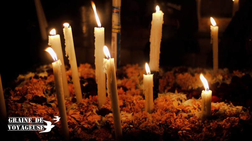 bougies dia de los muertos mixquic