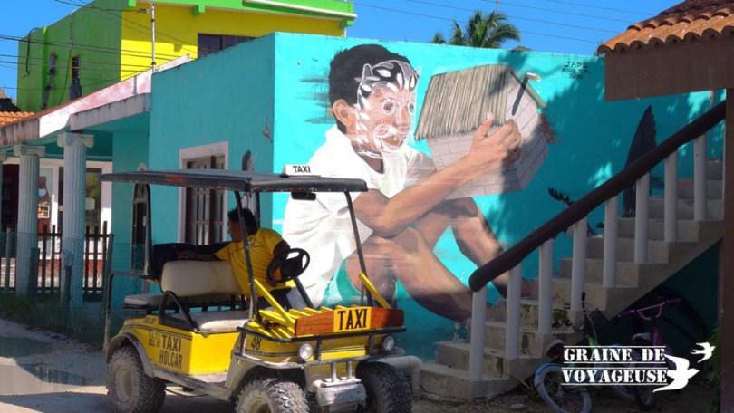 holbox street art mural