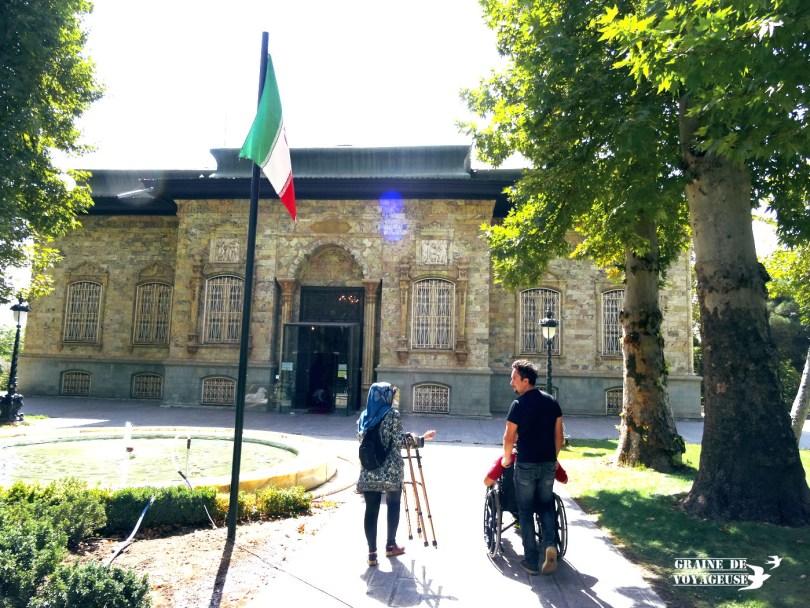Palais Sa'dabad téhéran iran