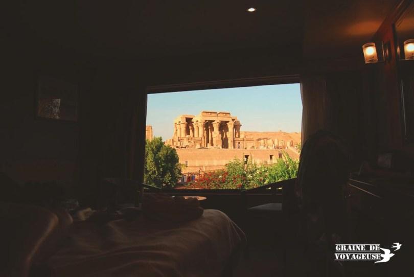 Croisière en Egypte vue bateau