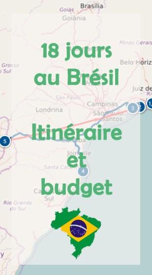 18 jours au Brésil : itinéraire et budget
