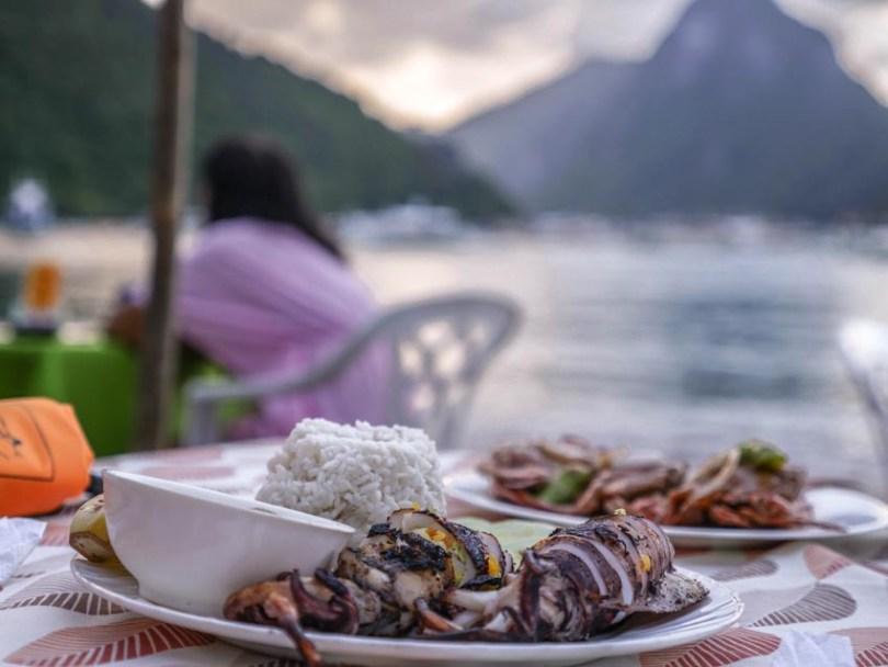 Fruits de mer El Nido