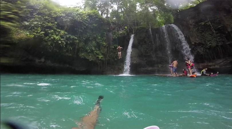 Canyoning cascades de Kawasan