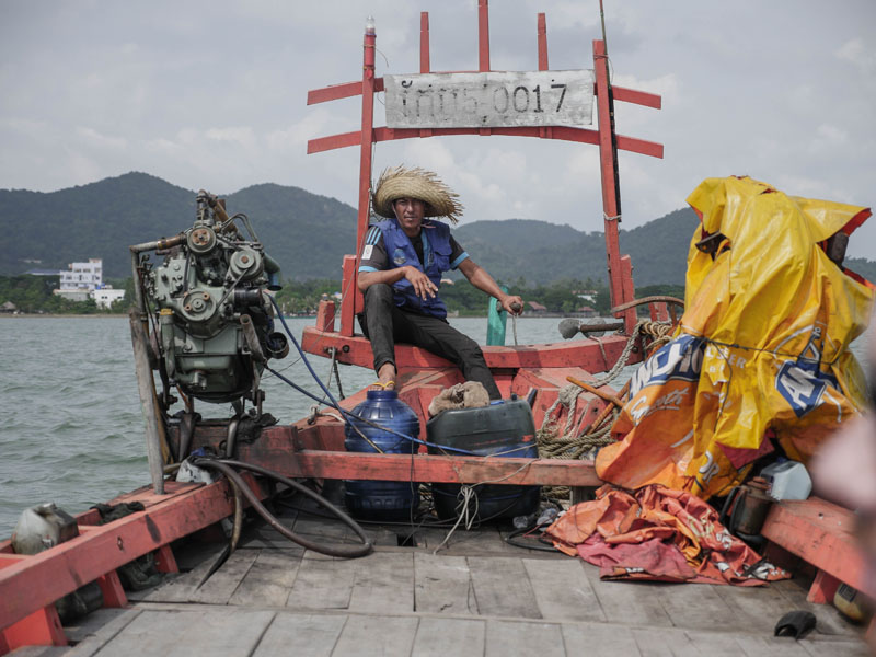 Koh Tonsay bateau