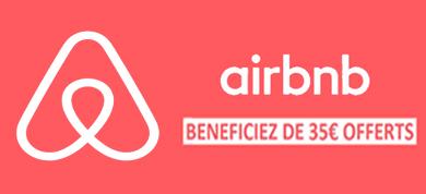 35€ offerts sur Airbnb