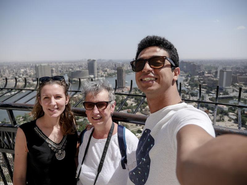 Vue Tour du Caire