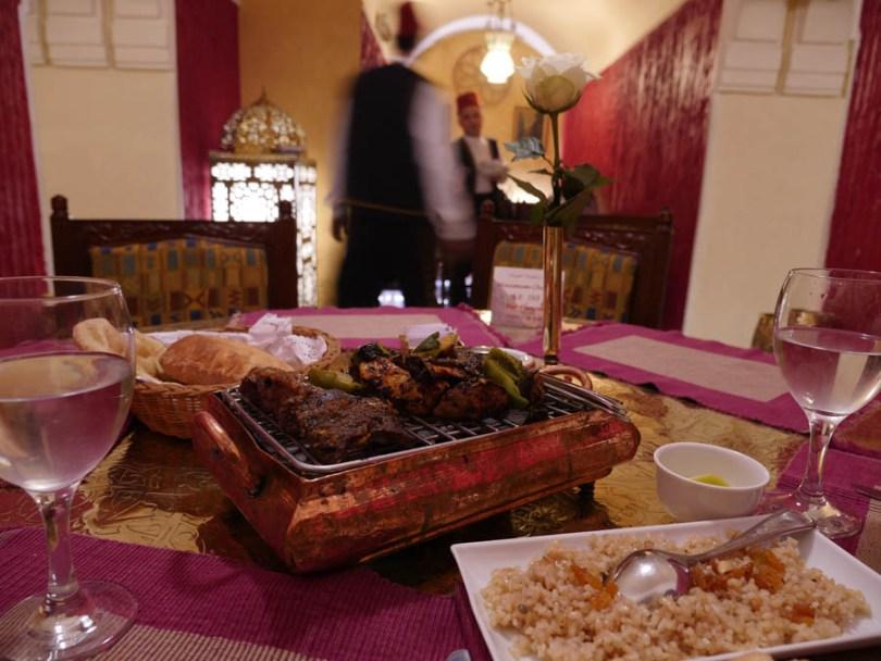 Restaurant Naguib Mahfouz au Caire