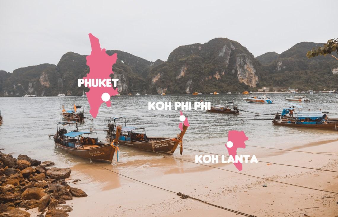8 jours Phuket Itinéraire et Budget