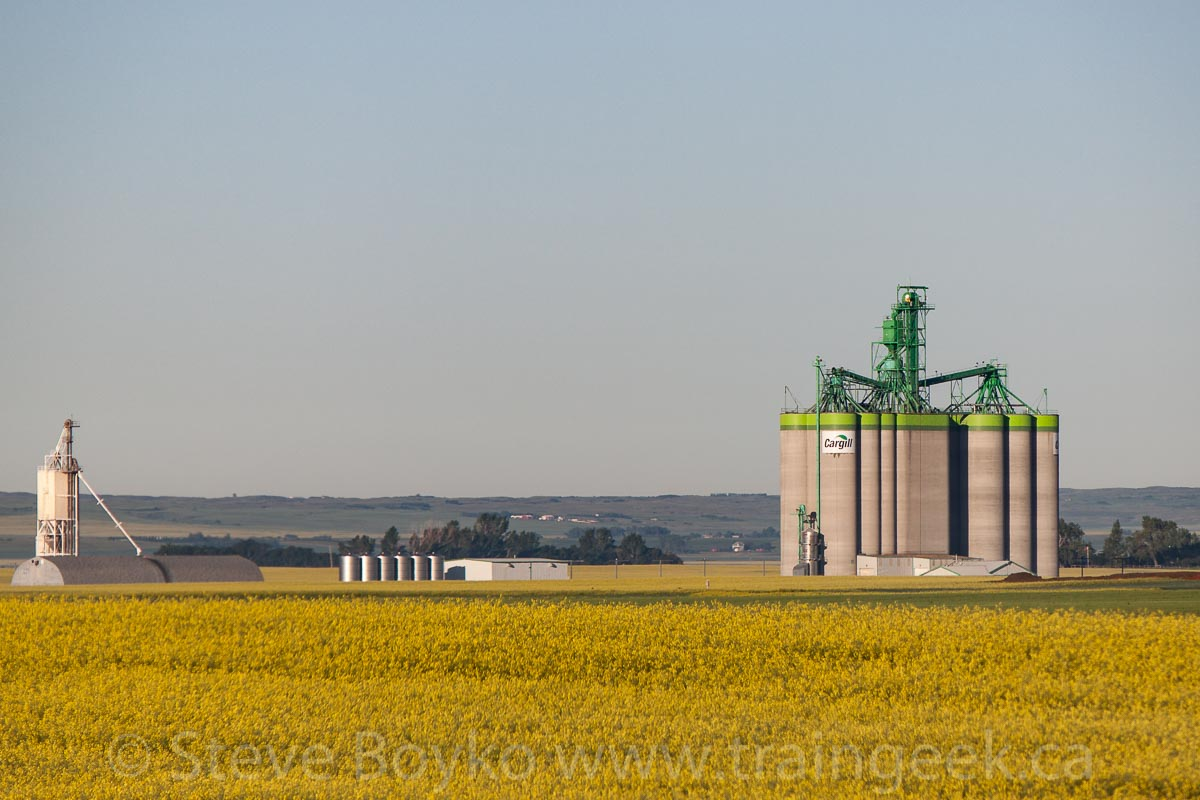 Moose Jaw Grain Elevators Of Canada