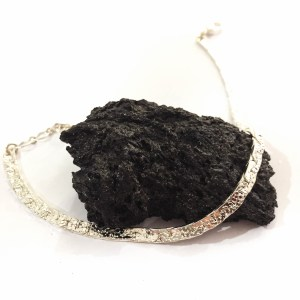 Bracelet Léopa, argenté