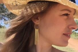 Boucles d'oreilles Kela, doré