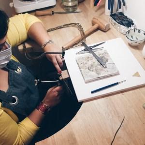 atelier fabriquer un bijou