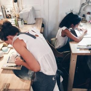 Atelier Duo, bagues en argent