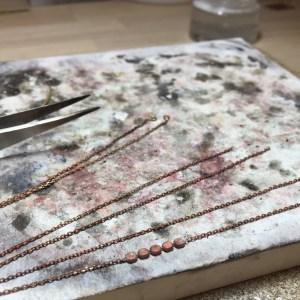 Artisan à Toulouse, bijou de créateur, sur mesure