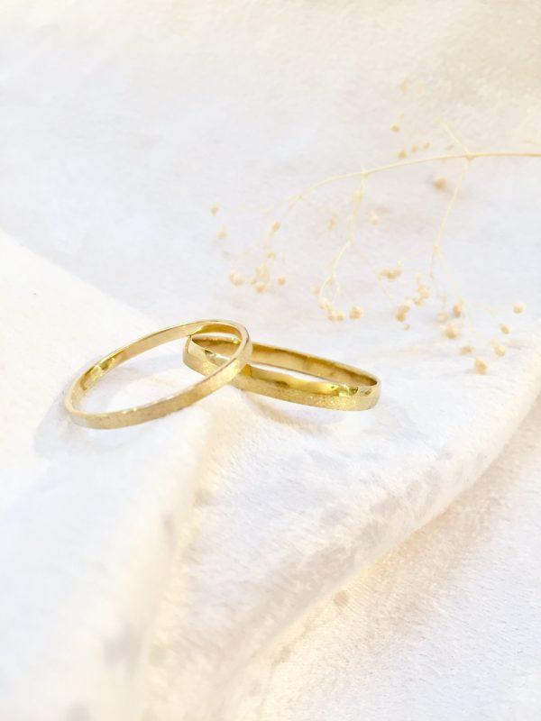 alliances mariages pacs duo sablé satiné toulouse