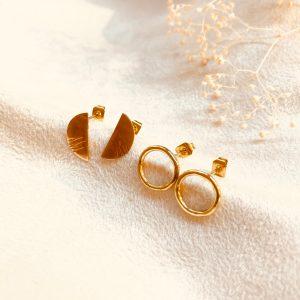Atelier Puces d'oreilles en plaqué or