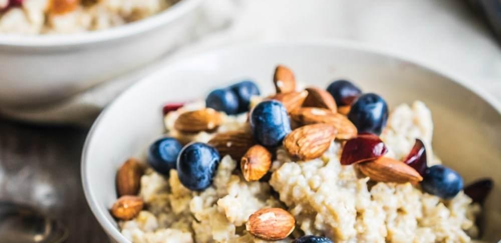 oatmeal blueberries