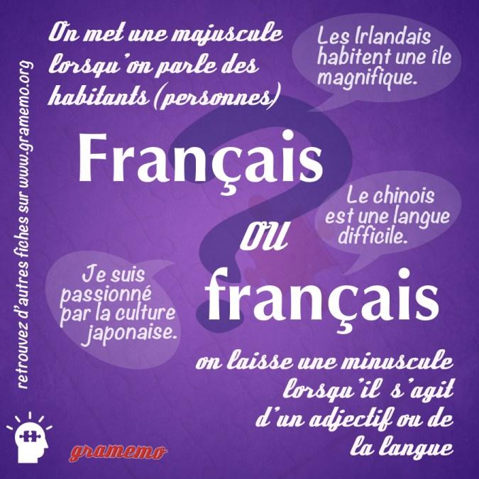 Français ou français - Gramemo