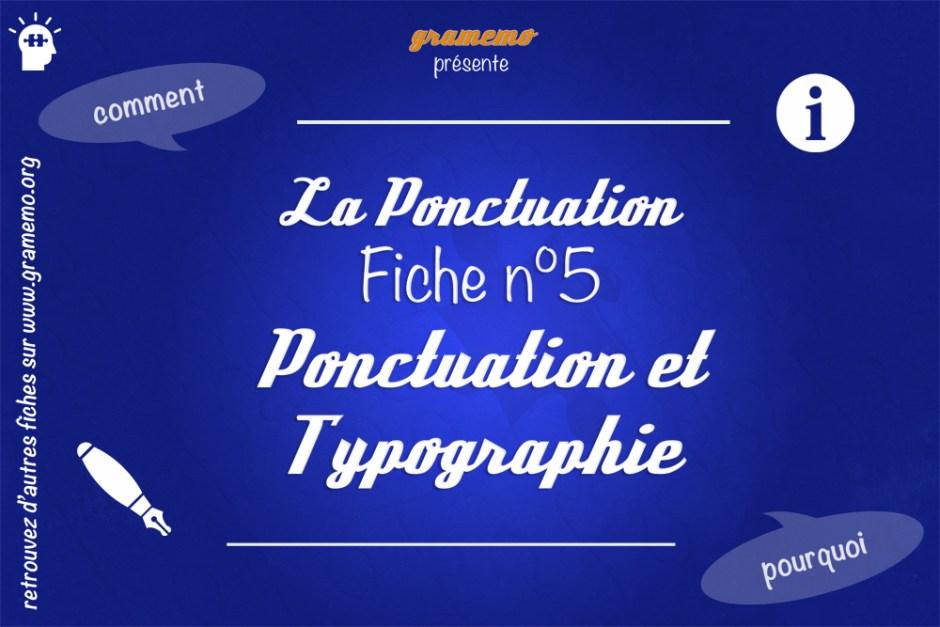 060 Ponctuation et Dactylographie