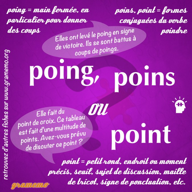 Poing point poins