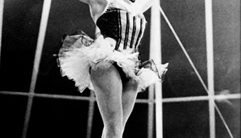 Claire Motte, étoile of the Paris Opera Ballet, at the circus