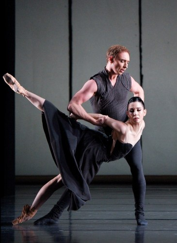 Bennet Gartside and Tamara Rojo in Liam Scarlett's Asphodel Meadows