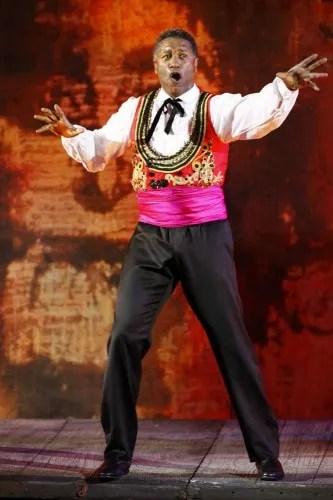 Mark S. Doss as Escamillo at the Arena di Verona -  Fondazione Arena di Verona, Foto Ennevi.