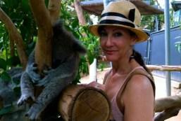 Cynthia Harvey in Australia