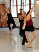Cynthia Harvey teaching