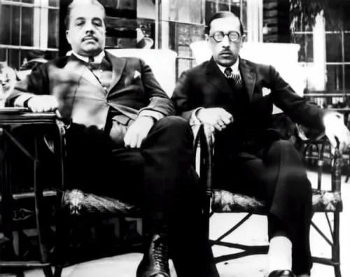 Diaghilev-and-Stravinsky
