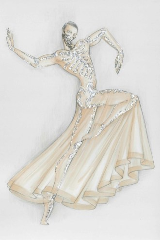 Bolero costume by Riccardo Tisci