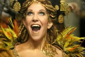 Joyce DiDonato backstage as Sycorax