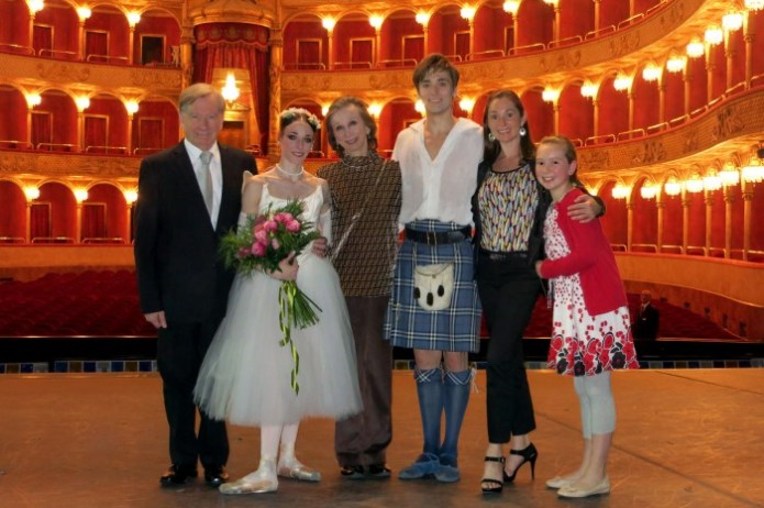 Maina Gielgud with-David-Garforth,-Anais-Chalendard,-Freiedemann-Vogel,-Lisa-Bolte-(ex-principal-of-The-Australian-Ballet-and-assisting-me-with-this-production,-and-her-daughter-Olivia)