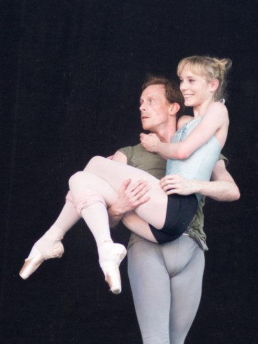 Sarah Lamb and Edward Wat­son in McGregor's Qualia