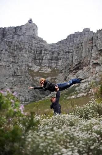 Daria Klimentova in Cape Town with Vadim Muntagirov