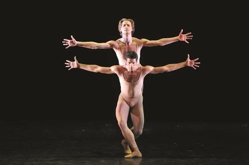 Denis Matvienko & Marcelo Gomes in 'Morel et Saint-Loup'
