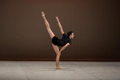 Performing 2nd solo from 1st Flash by Jorma Elo, Prix de Lausanne finals, 2013
