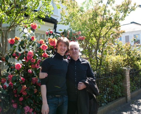Vadim Muntagirov with father by Daria Klimentova