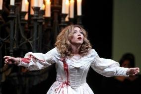 Desirée Rancatore in Lucia di Lammermoor, Palermo 2011, photo by Franco Lannino