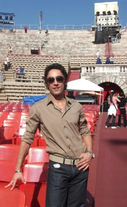 Vittorio Galloro, Arena di Verona, Agosto 2012