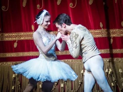 Natalia Osipova and Claudio Coviello after Swan Lake