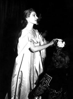 Maria Callas in Il Pirata - Teatro alla Scala, 1958